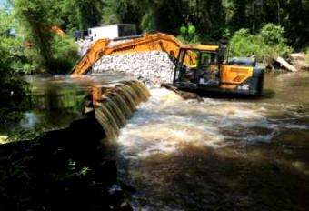 American Rivers: Congaree Creek flowing free thanks to dam removal