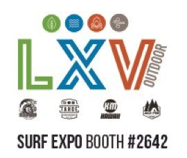 LXV Outdoor unveils plethora of new products, including new brands and boards at Surf Expo