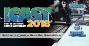 Blue Sky Boatworks 360º Angler Wins Best of Show at ICAST
