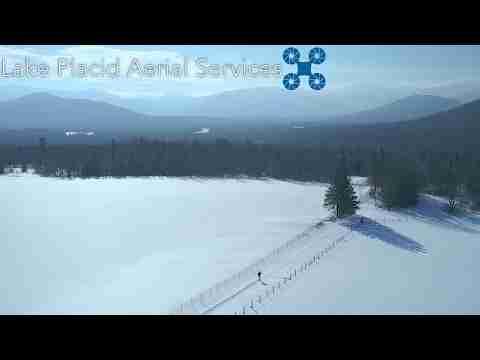 Aerial | Bear Cub Road, Lake Placid, NY