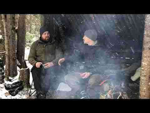 Canoeists By A Campfire Having Coffee- Joe Robinet (Ep. 2)