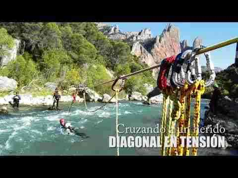 Curso de Rescate TRA-WRT (Whitewater Rescue Techincian)
