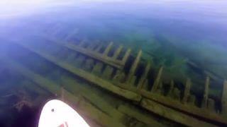 SUP Snorkeling a Legendary Shipwreck in Duncan Bay, Lake Huron