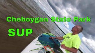 Paddle Boarding Cheboygan State Park - SUP Snorkeling Duncan Bay, Lake Huron