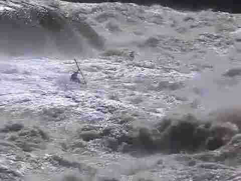 Vintage Massive Extreme Whitewater Footage of Eric Jackson and Clay Wright